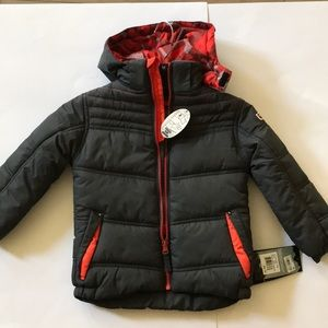 Protection System Boys Jacket 4T Charcoal